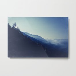 daybreak blues Metal Print