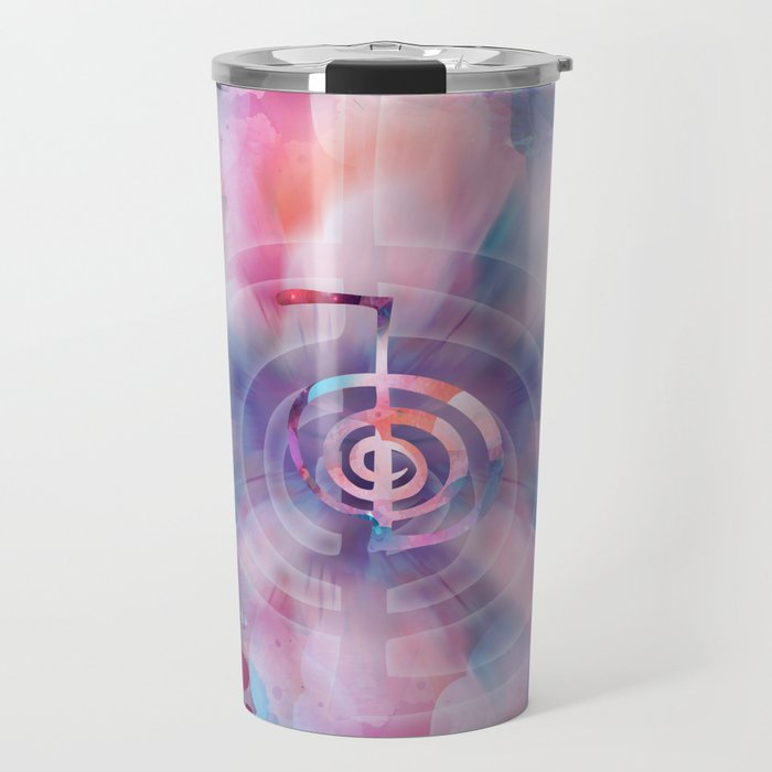 Cho Ku Rei - Gentle Watercolor Travel Mug