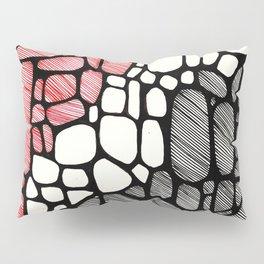 Piedras Rayadas 1 Pillow Sham
