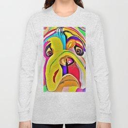 Bulldog Close-up Long Sleeve T-shirt