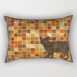 House Cat Rectangular Pillow