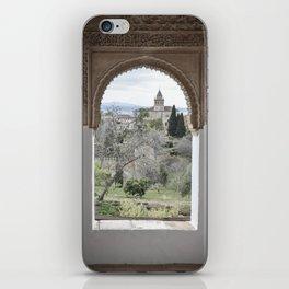 Window to Granada iPhone Skin