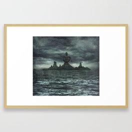 R'lyeh Rises Framed Art Print