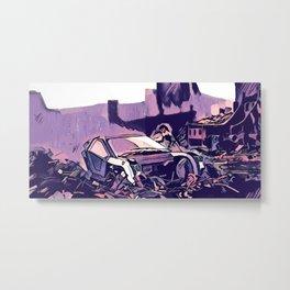 Scrapyard ~ Blade Runner 2049 Metal Print