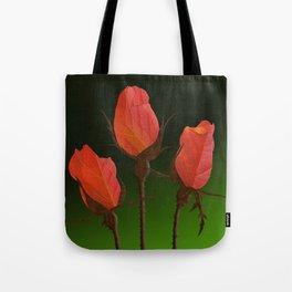 Autumn Rosebuds Tote Bag