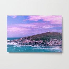 Fistral Beach - Cornwall, England Metal Print