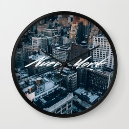 Nueva York Wall Clock