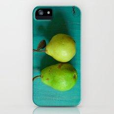 Cute Couple Slim Case iPhone (5, 5s)