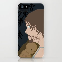 Sam, BB and the three Beached Things (Hexelated) iPhone Case