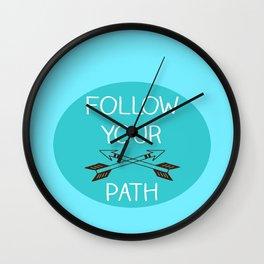 Follow v.3 Wall Clock
