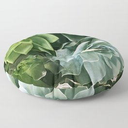 Succulent Succulents Floor Pillow