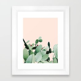 Cactus culture Framed Art Print