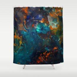 Galaxy Shower Curtain