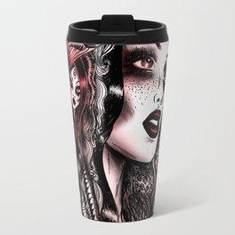 Baroque Head_Red Travel Mug