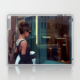 Audrey Hepburn #2 @ Breakfast at Tiffany's Laptop & iPad Skin