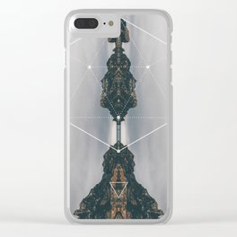 Goddess #3 Clear iPhone Case