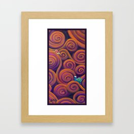 Escargot Framed Art Print