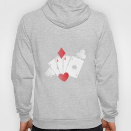 Poker Cards | Casino Gamble Ace Gift Idea Hoody