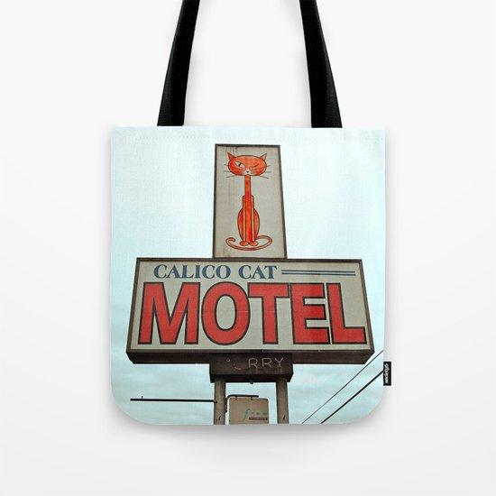 The Calico Cat Tote Bag