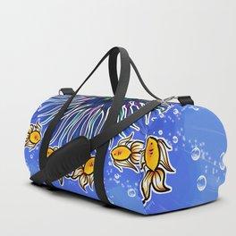 Mandala fishes Duffle Bag