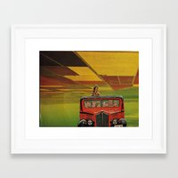 safari Framed Art Prints featuring Safari by michaelbuishas