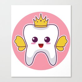 Tooth Fairy Costume Cute Gift for litte Tooth Fairy Fans design Canvas Print