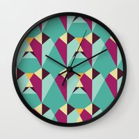 gem Wall Clocks featuring GEM by gdChiarts
