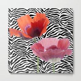floral bar  Metal Print