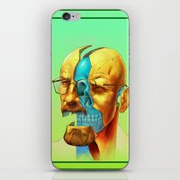 breaking iPhone & iPod Skins featuring Breaking Bad / Broken Bad by Mirco