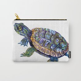 Slider Baby Turtle artwork Carry-All Pouch