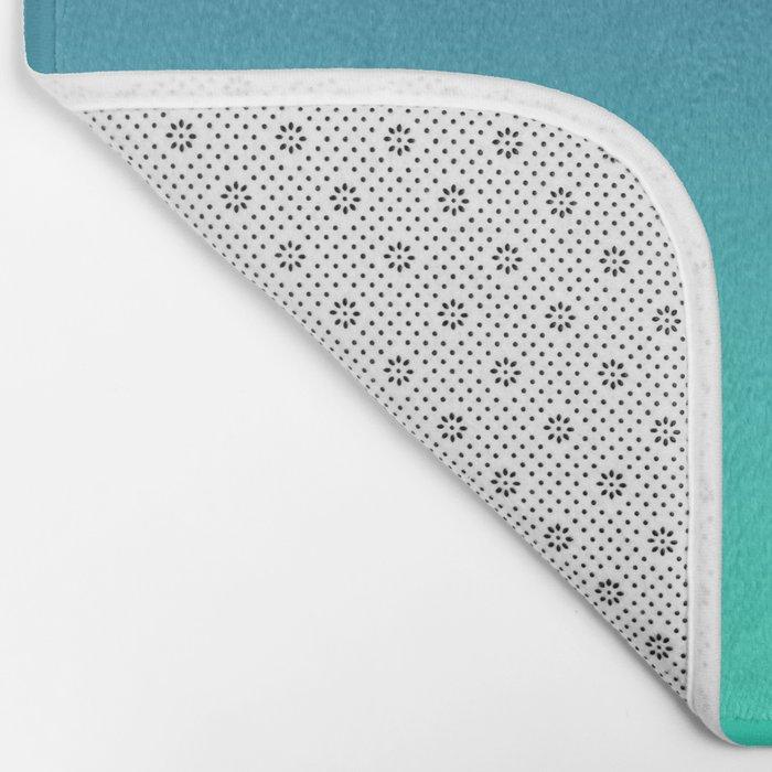 LUSH COVE - Minimal Plain Soft Mood Color Blend Prints Bath Mat