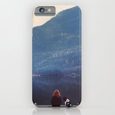 Girl and dog  iPhone 6s Slim Case