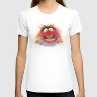 muppets T-shirts featuring Animal, The Muppets by KitschyPopShop