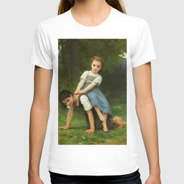 "William-Adolphe Bouguereau ""The Horseback Ride (La Bourrique)"" T-shirt"
