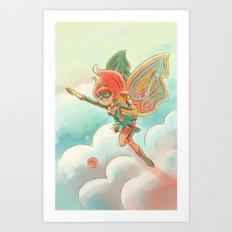 Goblins Drool, Fairies Rule! - Pixie Power Art Print