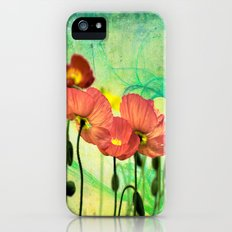 Poppy Slim Case iPhone (5, 5s)