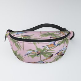 Seagulls and Palm Trees Fanny Pack