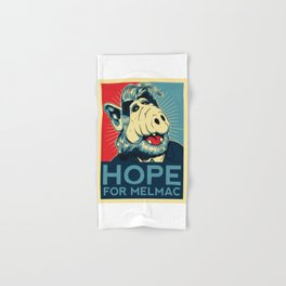 Hope For Melmac, Obama Yes We Can Parody With Alf Alien, Original Design T-Shirt, tshirt, tee, jerse Hand & Bath Towel