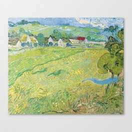 Van Gogh - View of Vessenots Near Auvers Canvas Print