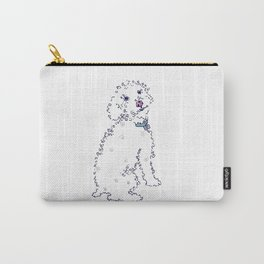 Curly Sam Dog Carry-All Pouch