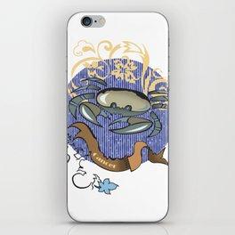 Cancer zodiac iPhone Skin