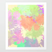 camouflage Art Prints featuring camouflage by 83 Oranges™