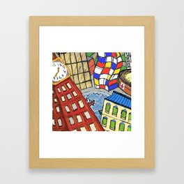 Baltimore In My Dreams Framed Art Print