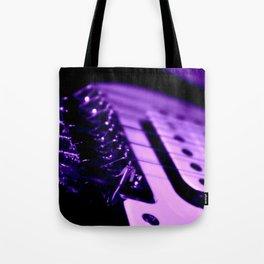 Guitar in Purple fine art photography Tote Bag