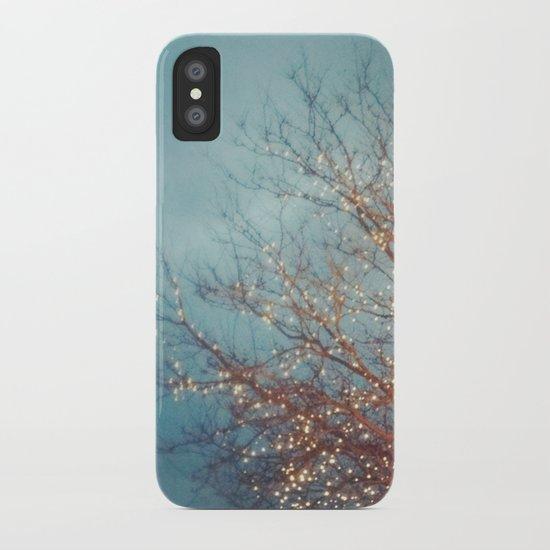December Lights iPhone Case