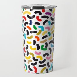 colored worms Travel Mug