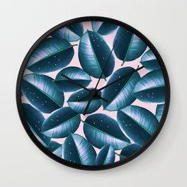 Rubber Plant Cure #society6 #decor #buyart Wall Clock