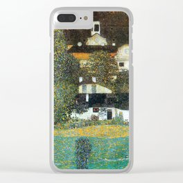 "Gustav Klimt ""Schloss Kammer on the Attersee II"" Clear iPhone Case"