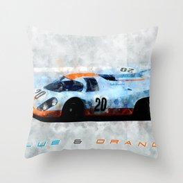 Gulf 917 Throw Pillow