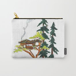 Forest Tree House - Woodland Potted Plant Carry-All Pouch